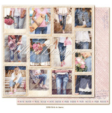 Maja Design Denim & Girls 12X12 - Snapshots Girls in Jeans