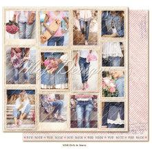 Maja Design Denim & Girls 12X12 - Snapshots Girls in Jeans