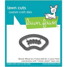 Lawn Fawn Custom Craft Die - Reveal Wheel Arc Frame Add-On