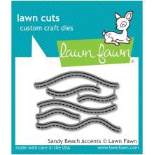 Lawn Fawn Custom Craft Die - Sandy Beach Accents