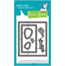 Lawn Fawn Custom Craft Die - Center Picture Window Card Add-On