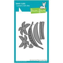 Lawn Fawn Custom Craft Die - Hammock & Trees