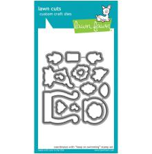 Lawn Fawn Custom Craft Die - Keep On Swimming