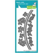 Lawn Fawn Custom Craft Die - Palm Tree Border