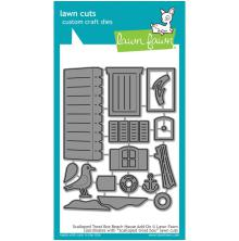 Lawn Fawn Custom Craft Die - Scalloped Treat Box Beach House Add-On
