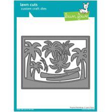 Lawn Fawn Custom Craft Die - Tropical Backdrop