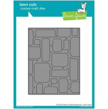 Lawn Fawn Custom Craft Die - Stitched Speech Bubble Backdrop