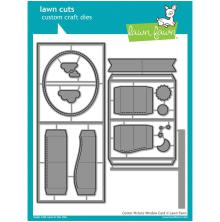 Lawn Fawn Custom Craft Die - Center Picture Window Card