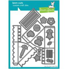 Lawn Fawn Custom Craft Die - Cake Slice Box