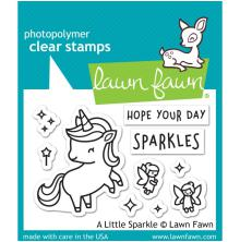 Lawn Fawn Clear Stamps 3X2 -A Little Sparkle