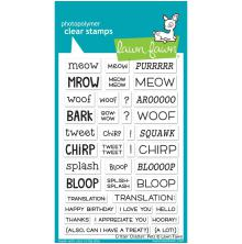 Lawn Fawn Clear Stamps 4X6 -Critter Chatter: Pets