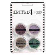 Ranger Letter It Embossing Powder Set - Graceful