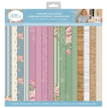 Crafters Companion Sara Davies 12X12 Paper Pad - Sew Homemade