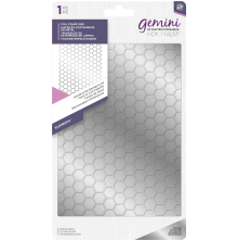 Gemini Foil Stamp Die - Honeycomb Background
