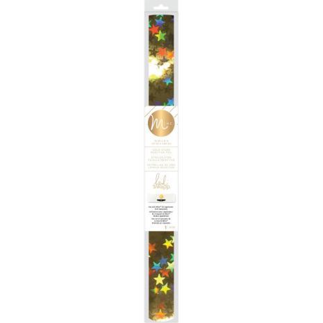 Heidi Swapp Minc Reactive Foil 12.25X6ft - Gold Stars