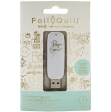We R Memory Keepers Foil Quill USB Artwork Drive - Paige Evans