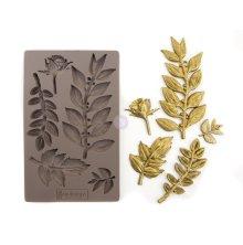 Prima Redesign Mould 5X8 - Leafy Blossoms