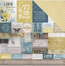 Kaisercraft Antiquities Double-Sided Cardstock 12X12 - Beloved