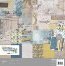 Kaisercraft Paper Pack 12X12 12/Pkg - Antiquities