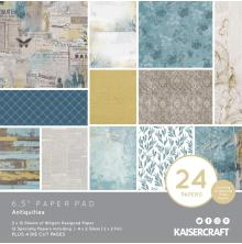 Kaisercraft Paper Pad 6.5X6.5 40/Pkg - Antiquities