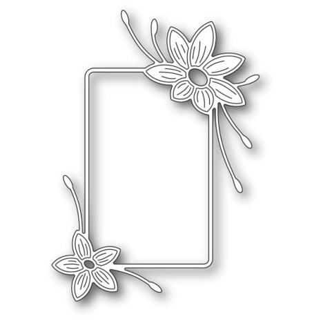 Memory Box Die - Starflower Flower Frame