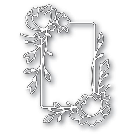 Memory Box Die - Rose Flower Frame
