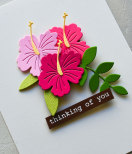 Memory Box Die - Little Hibiscus Blossom