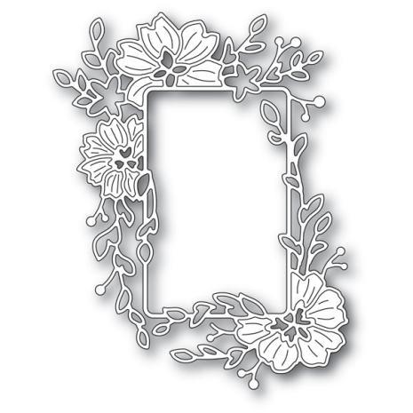 Memory Box Die - Clarkia Flower Frame