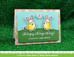 Lawn Fawn Clear Stamps 4X6 - Chirpy Chirp Chirp