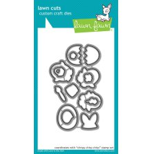 Lawn Fawn Custom Craft Die - Chirpy Chirp Chirp