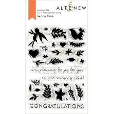 Altenew Clear Stamps 4X6 - Spring Fling