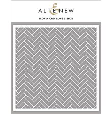 Altenew Stencil 6X6 - Broken Chevrons