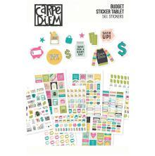Simple Stories Carpe Diem A5 Planner Sticker Tablet - Budget