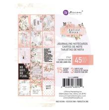 Prima Journaling Cards 3X4 45/Pkg - Apricot Honey