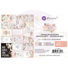 Prima Journaling Cards 4X6 45/Pkg - Apricot Honey