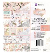 Prima Double-Sided Paper Pad 6X6 30/Pkg - Apricot Honey