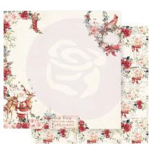 Prima Christmas In The Country Double-Sided Cardstock 12X12 - Sweet Santa Claus