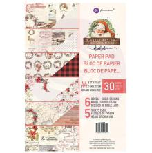 Prima Marketing Double-Sided Paper Pad A4 30/Pkg - Christmas In The Country