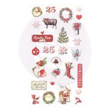 Prima Puffy Stickers 27/Pkg - Christmas In The Country
