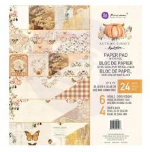 Prima Double-Sided Paper Pad 12X12 24/Pkg - Autumn Sunset
