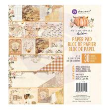 Prima Double-Sided Paper Pad 8X8 30/Pkg - Autumn Sunset