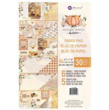 Prima Marketing Double-Sided Paper Pad A4 30/Pkg - Autumn Sunset