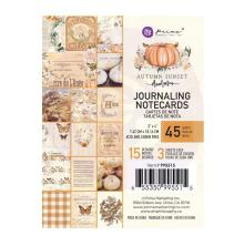 Prima Journaling Cards 3X4 45/Pkg - Autumn Sunset