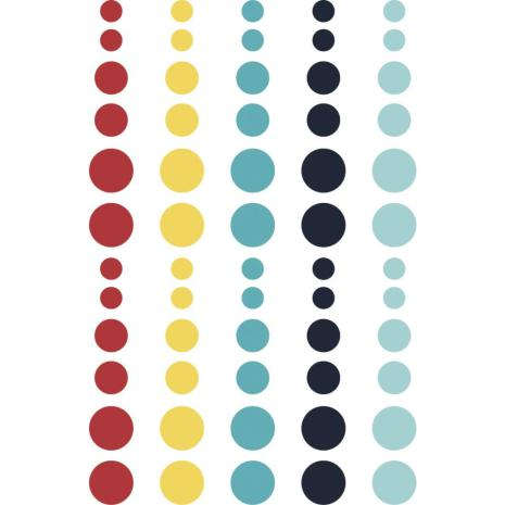 Simple Stories Enamel Dots - Cruisin