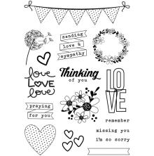 Simple Stories Heart Clear Stamps - Always In My Heart
