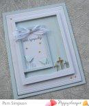 Poppystamps Die - Three Crosses Sidekick Frame and Stencil 2183