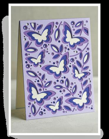 Birch Press Die - Butterfly Garden Plate Layer Set