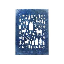 Tim Holtz Sizzix Thinlits Dies - Nordic Winter  19-07