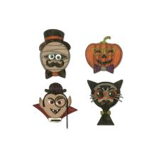 Tim Holtz Sizzix Thinlits Dies - Hip Haunts  19-07