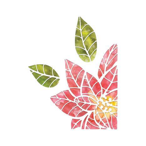 Tim Holtz Sizzix Thinlits Dies - Poinsettia Pieces  19-07